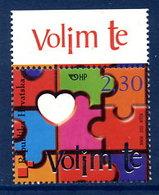 CROATIA 2003 Valentines Greetings MNH / **.  Michel 635 - Croatie