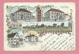 67 - GRUSS Aus MÜTTERSHOLZ - MUTTERSHOLTZ - Litho Couleur Multivues - Gasthaus - Spezerei - Gemeindehaus - Post - Non Classificati
