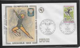 Thème Patinage Artistique - Jeux Olympiques - Sports - Enveloppe - Figure Skating