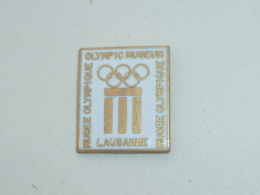 Pin's MUSEE OLYMPIQUE DE LAUSANNE - Olympic Games