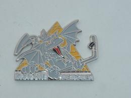 Pin's HOCKEY SUR GLACE, DRAGONS DE ROUEN - Winter Sports