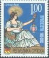 BHRS 2002-237 100A°PROSVETA, BOSNA AND HERZEGOVINA REP. SRPSKA, 1 X 1v, MNH - Bosnie-Herzegovine