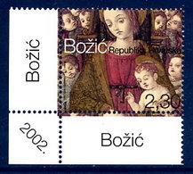 CROATIA 2002 Christmas MNH / **.  Michel 626 - Croatie