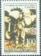 BHRS 2002-239 75A°CHARLS LINDBERG, BOSNA AND HERZEGOVINA REP. SRPSKA, 1 X 1v, MNH - Bosnie-Herzegovine