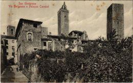 CPM San Gimignano Via Berignano E Palazzo Cannicci ITALY (803028) - Italia