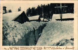 CPA S.Eremo Di Camaldoli Under Snow ITALY (803136) - Italia