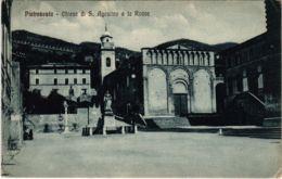 CPA Pietrasanta Chiesa Di S. Agostino E La Rocca ITALY (803284) - Italia