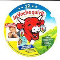 Étiquette De Boîte 12 Portions : La Vache Qui Rit. (Voir Commentaires) - Käse