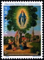 Poland 2019 Fi 4985 Mi 5135 Revelations Of Our Lady In Gietrzwałd - 1944-.... República