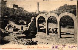 CPA Fiesole Terme Romane ITALY (803373) - Italia