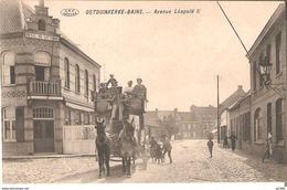 Oosduinkerke-bains - Avenue Leopold II  - L'état Très Bon ! - Oostduinkerke