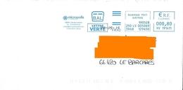 EMA Bal Frad HV 191411 Aveyron Rouergue Flamme Cité Des Insectes Saint Léons - Insecten