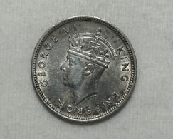 Silber/Silver Britisch Seychellen/British Seychelles George VI, 1943, 25 Cents Funz/AU - Seychelles