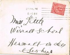 33305. Carta DUBLIN (Irlanda) 1912. Membrete Y Carta SHELBOURNE HOTEL - 1902-1951 (Rois)