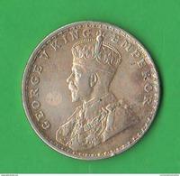 India Rupia 1919 One Rupee King George V° - India