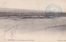Cachet 15 ème Bataillon De Tirailleurs Sénégalais Sur CP De Bou-Denib De 1917 - WW I