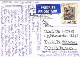 33308. Postal LEOGANG (Austria) 1998. Wintersport Leogang. Salzburger Land - 1991-00 Cartas