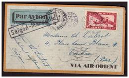 Lettre De SAIGON Pour TOULON Du 18.5.35. - Vietnam