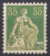 HELVETIA - SUISSE - SVIZZERA - 1908 - Yvert 122 Nuovo MH. - Nuovi