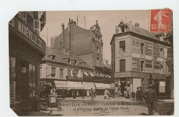 CPA - 14 - TROUVILLE - CARREFOUR DE LA RUE DES BAINS ET D'ORLÉANS, ENTRÉE DE L'HOTEL TIVOLI - - Trouville
