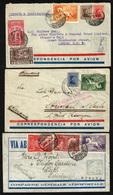 Uruguay Nº 42, 46 Y 47 . Año 1930/31 - Uruguay