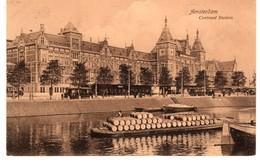 AMSTERDAM - Centraal Station - 1909 - Weenenk - Tram - Vatenschip - C - Amsterdam