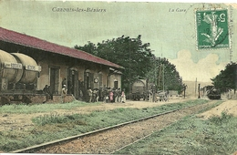 CAZOULS-LES-BEZIERS (34)  - La Gare - Beziers
