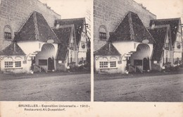 Exposition 1910 Restaurant Alt Dusseldorf - Expositions Universelles