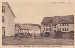 Elsenborn - Camp - Kamp - Cour Des Casernes Et Cuisines Roulantes - Kaserneplein En Rollende Keukens - Elsenborn (camp)