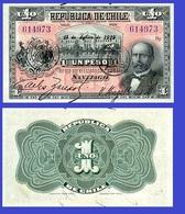 Chile 1 Pesos 1919 - Chili