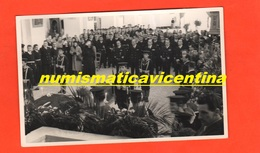 Augusta Siracusa Marina Funerali Cerimonia Funebre X Sottufficiale Caduto 1955 - Guerra, Militari