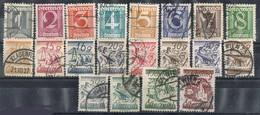 Sellos De Serie AUSTRIA 1925, Yvert Num 331-350 º - Usados