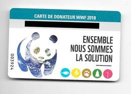 Carte De Donateur WWF 2018. (Voir Commentaires) - W.W.F.