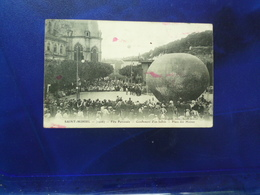 1906 SAINT MIHIEL FETE PATRONALE GONFLEMENT D'UN BALLON PLACE DES MOINES  BON ETAT - Saint Mihiel