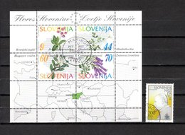 Eslovenia  1994-96  .-  Y&T  Nº   1-2   Blocks - Eslovenia