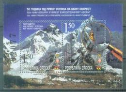 BHRS 2003-269-70 MONTE EVREST, BOSNA AND HERZEGOVINA, R.SRPSKA, S/S, MNH - Bosnie-Herzegovine