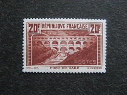 A). N° 262 A, G.N.O., Neuf XX. - France