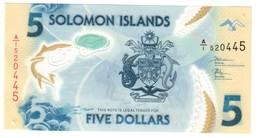 Solomon 5 Dollars 2019 - Isla Salomon