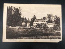 Luxemburg * 1920 Niederfeulen - Sanatorium - Cartes Postales