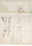 HARMIGNIES GIVRY EXTRAIT DU PLAN DE DETAIL N° 5 DE L ALTAS VICINAL DE LA COMMUNE DE GIVRY  PLAN FAIT EN 1896 - Europe