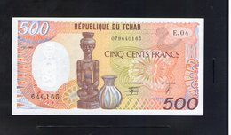 Tchad. 500 Francs 1990 - Chad