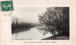 "SAINT RAMBERT D'ALBON "" Vue Sur Le Rhône"" - Andere Gemeenten"