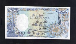 Tchad. 1000 Francs 1990 - Tchad