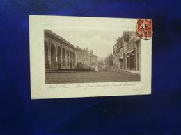 1910 AUCH PLACE JEAN DAVID ET RUE DE LORRAINE  ETAT BON - Auch