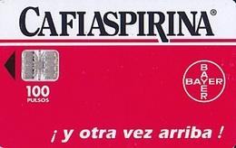 ARGENTINE  Télécarte  Sc7  100 Unités De 09.1997   Cafiaspirina Bayer    250 000ex. - Advertising