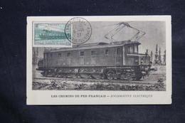 FRANCE - Carte Maximum 1937 - Locomotive - L 34107 - 1930-39