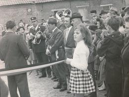 OORDEGEM   --- FOTO 1973    9 X è CM     INHULDIGING NIEUWE BAAN - Lede