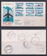 Papua New Guinea 1970 Australia/New Guinea Air Services Registered FDC - Papouasie-Nouvelle-Guinée