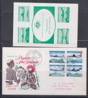 Papua New Guinea 1970 Australia/New Guinea Air Services FDC(With Insert) - Papouasie-Nouvelle-Guinée