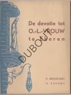 EKEREN - Boekje De Devotie Tot OLVrouw Te Ekeren- St Lambertuskerk  - Fr. Bresseleers - H.Kanora - 1944 (N727) - Antiguos